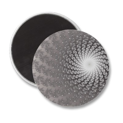 Silver Whirlpool 2 Magnet