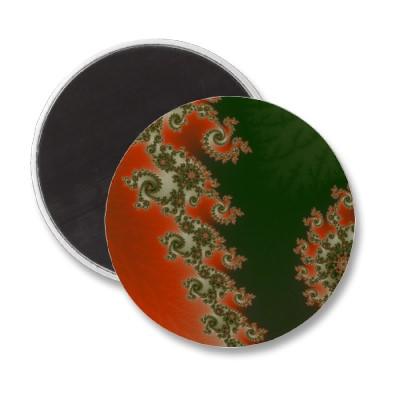 Pimento Olive Lines Magnet