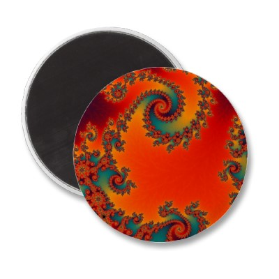 Circus Double Spiral Magnet