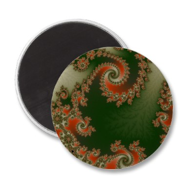Pimento Olive Double Spiral Magnet