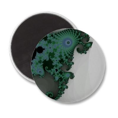 Emerald Seahorse Magnet