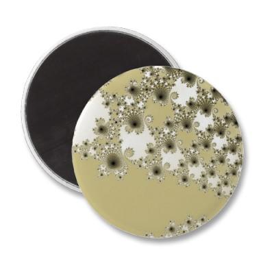 Gold Urchins Magnet