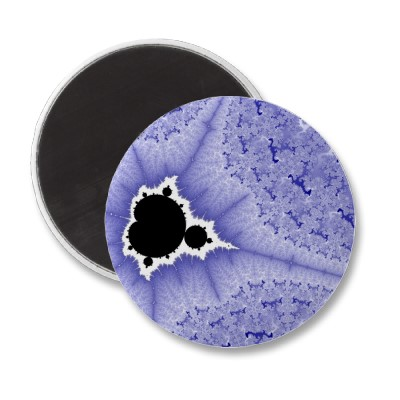 Blue Mini Brot Magnet