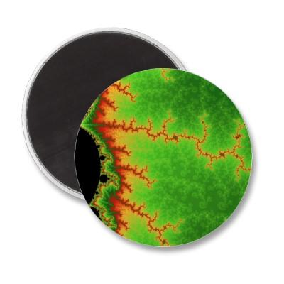 Green Fault Line Magnet