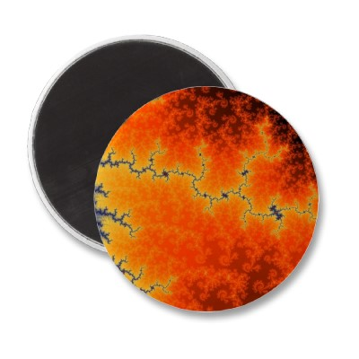 Burning Fault Line Magnet