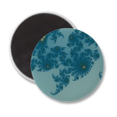 Underwater Ferns Magnet