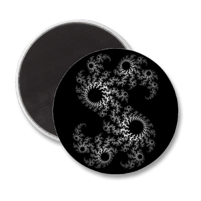Black White Julia 324048 Magnet