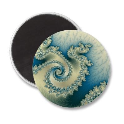 Seaside Triple Twirl Magnet