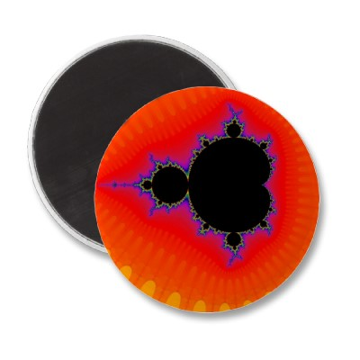 Two To Forty Orange Magnet