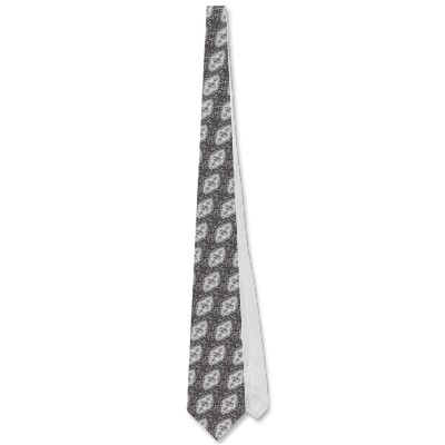 Silver Jellyfish Tie
