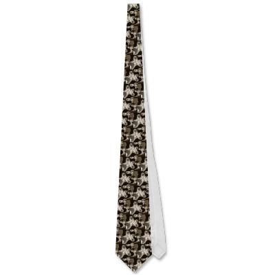 Coffee Tentacles Tie