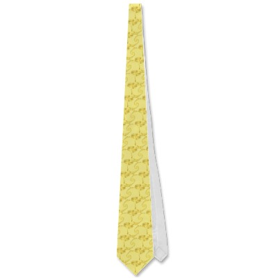 Yellow Gold Double Spiral Tie