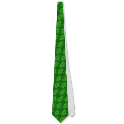 Electric Green Jellyfish Tie