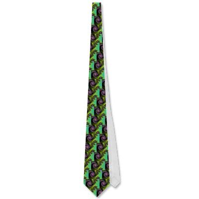 Irridescent Tongues Tie