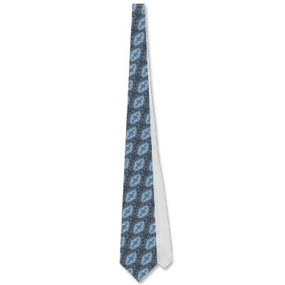 Blue Jellyfish Tie