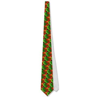 Christmas Zigzag Tie