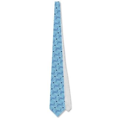 Blue Octopuses Tie