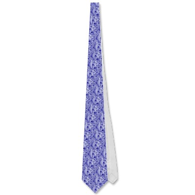 Blue Tongues Tie