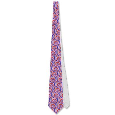 Tricolour Roundalls Tie