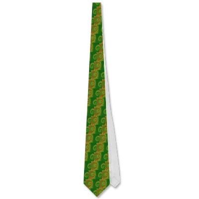 Christmas Spirole Tie