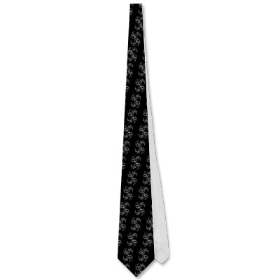 Black White Julia 324048 Tie