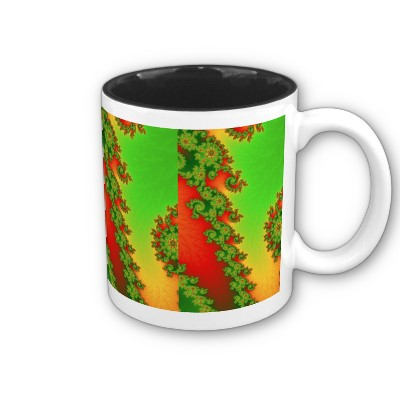 Christmas Lines Mug