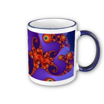 Rainbow Tentacles Mug