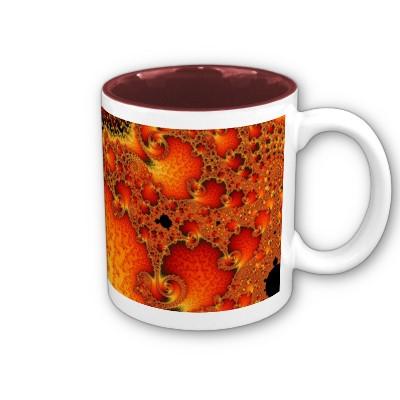 Red Hot Firepit Mug