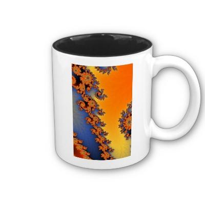 Hot Cold Lines Mug