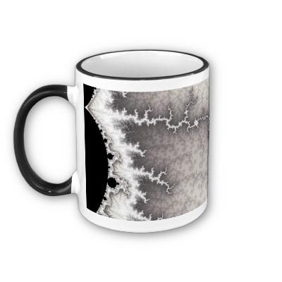 Silver Fault Line Mug