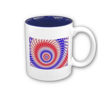 Tricolour Roundalls Mug