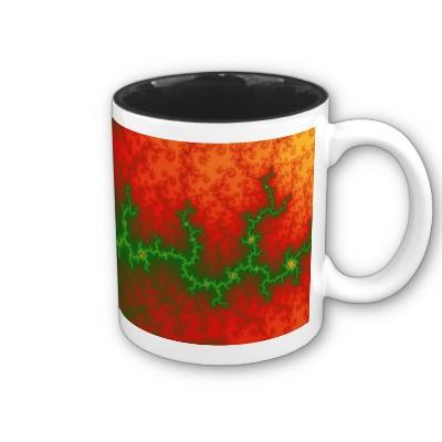 Christmas Zigzag Mug