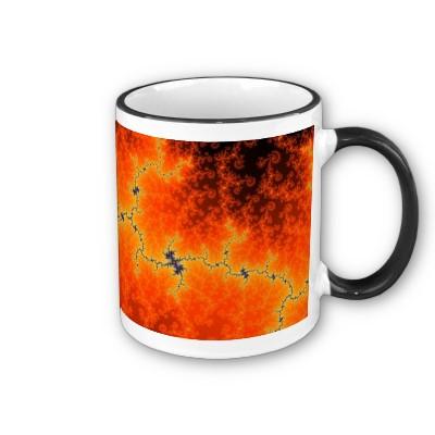 Burning Fault Line Mug