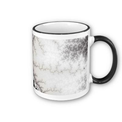 Silver Zigzag Mug