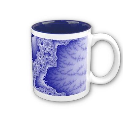 Blue Tongues Mug