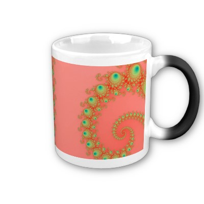 Rainbow Spirole Mug