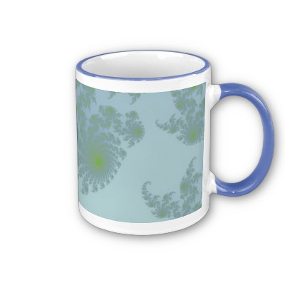 Green Ferns Mug