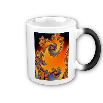 Quenched Double Spiral Mug