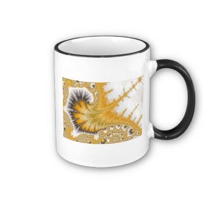Gold Stingray Mug
