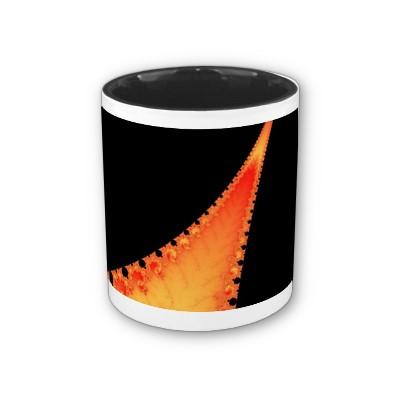 Fiery Stalagmite Mug