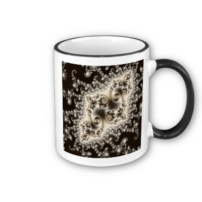 Sepia Brown Jellyfish Mug