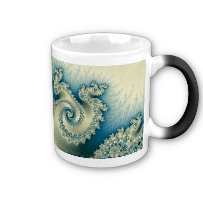 Seaside Triple Twirl Mug