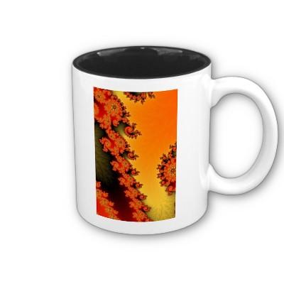 Flaming Lines Mug