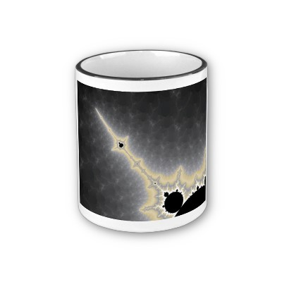 Gold Needle in Mercury Mug