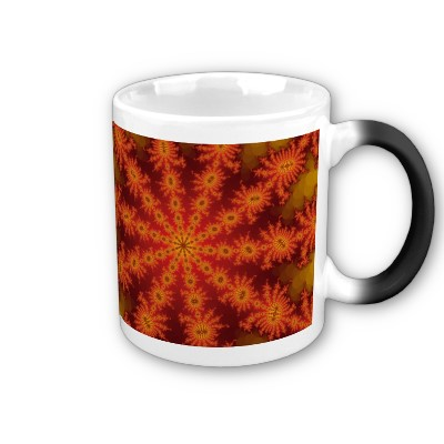 Red Orange Decasteer Mug