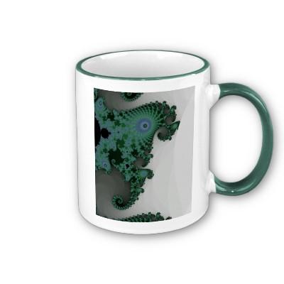 Emerald Seahorse Mug