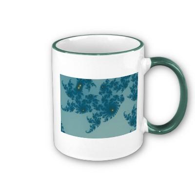 Underwater Ferns Mug
