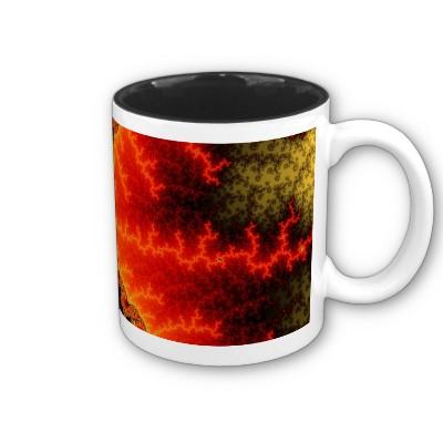 Flame Zigzag Mug
