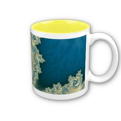 Beach Triple Twirl Mug