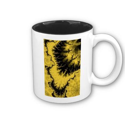 Musty Feathered Star Mug
